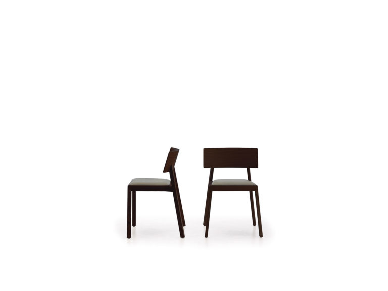Chaise et tabouret Whiskey Punt