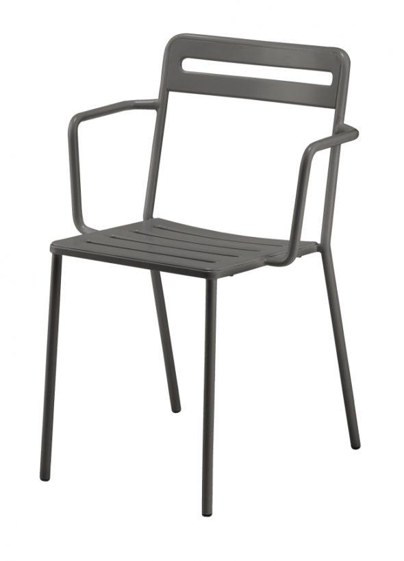 Chaise C1.2/1 grise - COLOS