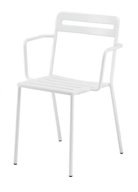 Chaise C1.2/1 blanche - COLOS