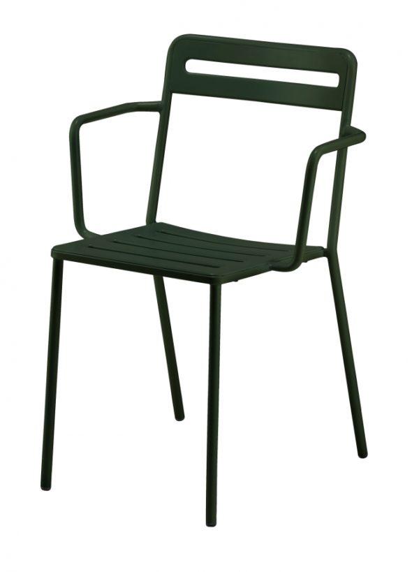 Chaise C1.2/1 verte foncée - COLOS
