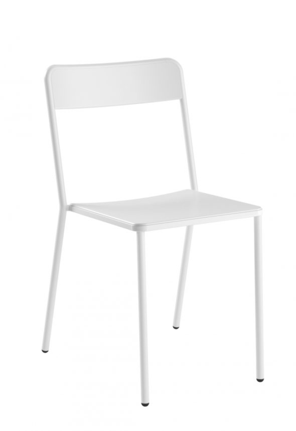 Chaise C1.1/1 blanche - COLOS