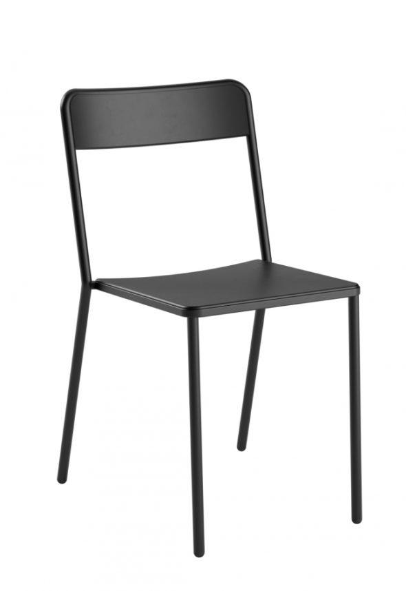 Chaise C1.1/1 noire - COLOS