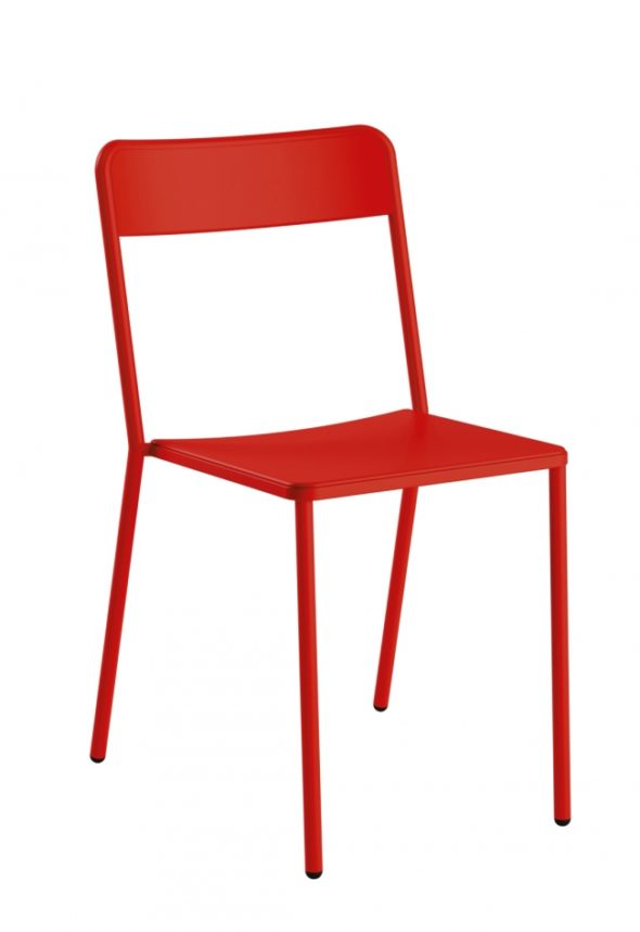 Chaise C1.1/1 rouge - COLOS