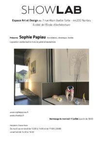 exposition Sophie papiau