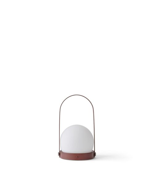 Lampe Carrie Nomade rouge – MENU