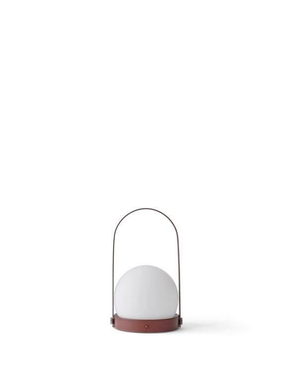 Lampe Carrie Nomade rouge- MENU