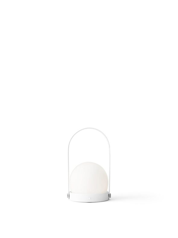 Lampe Carrie Nomade blanche - MENU