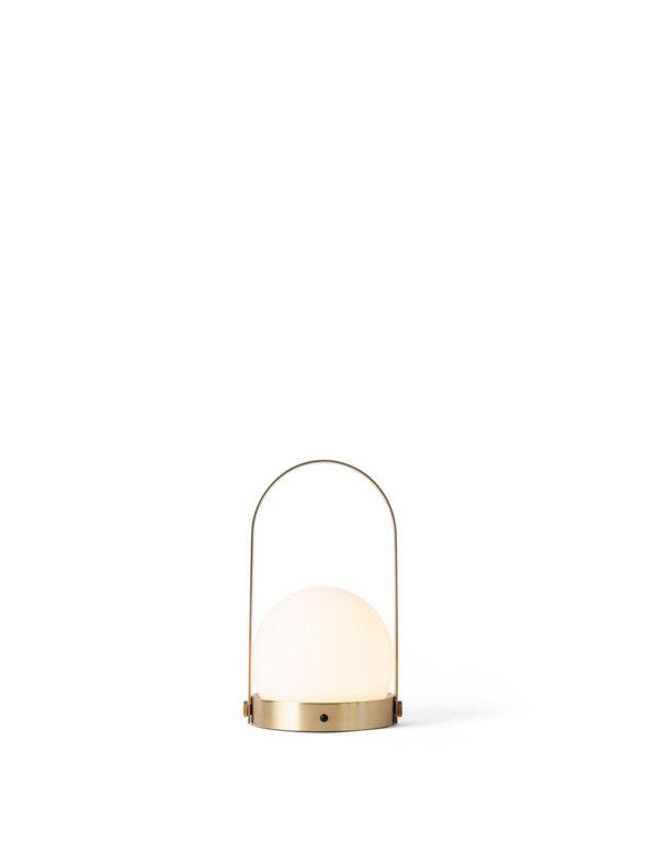 Lampe Carrie Nomade laiton brossé - MENU