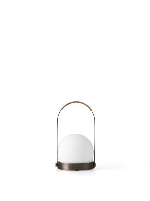 Lampe Carrie Nomade bronze brossé - MENU