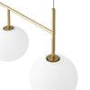 Cadre suspension TR bulb dorée mate - MENU