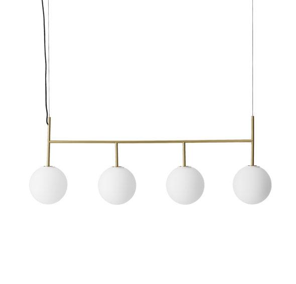 Cadre suspension TR bulb doré mate - MENU