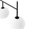 Cadre suspension TR bulb noir brillante - MENU