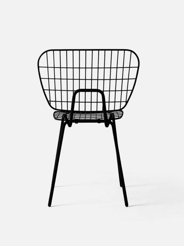 Chaise String noire- MENU