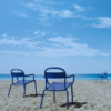 Chaise longue Stecca bleu - Colos