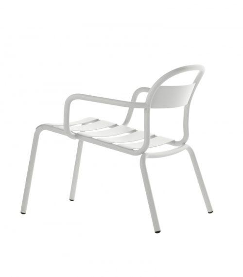 Chaise Longue Stecca blanche – COLOS