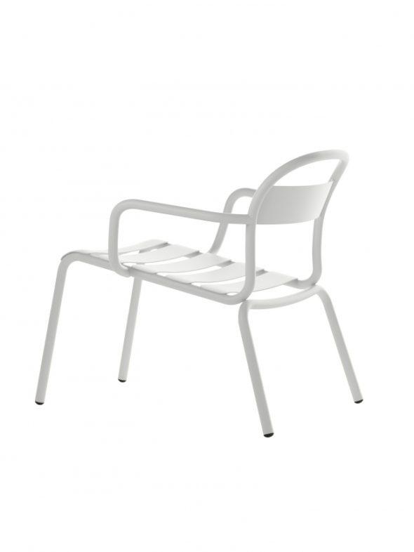 Chaise Longue Stecca blanche - COLOS