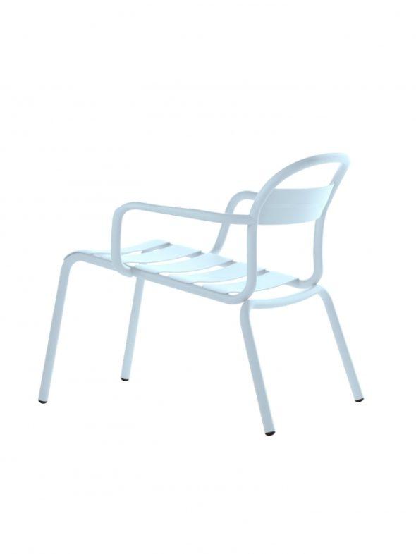 Chaise Longue Stecca bleu ciel - COLOS