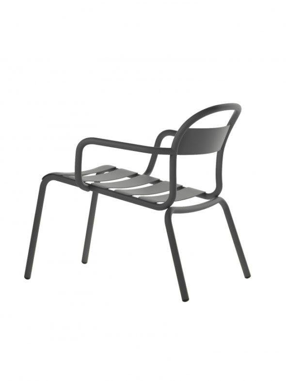Chaise Longue Stecca grise - COLOS