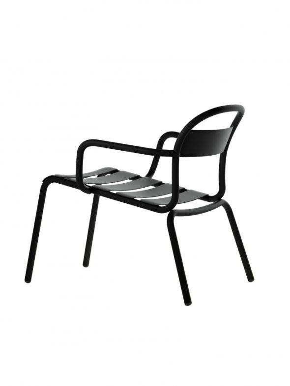 Chaise Longue Stecca noire - COLOS
