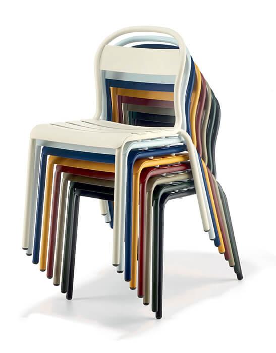 Coloris chaises Stecca - Colos