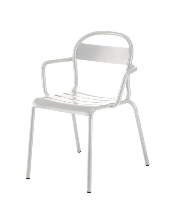 Chaise Stecca 2 blanche - COLOS