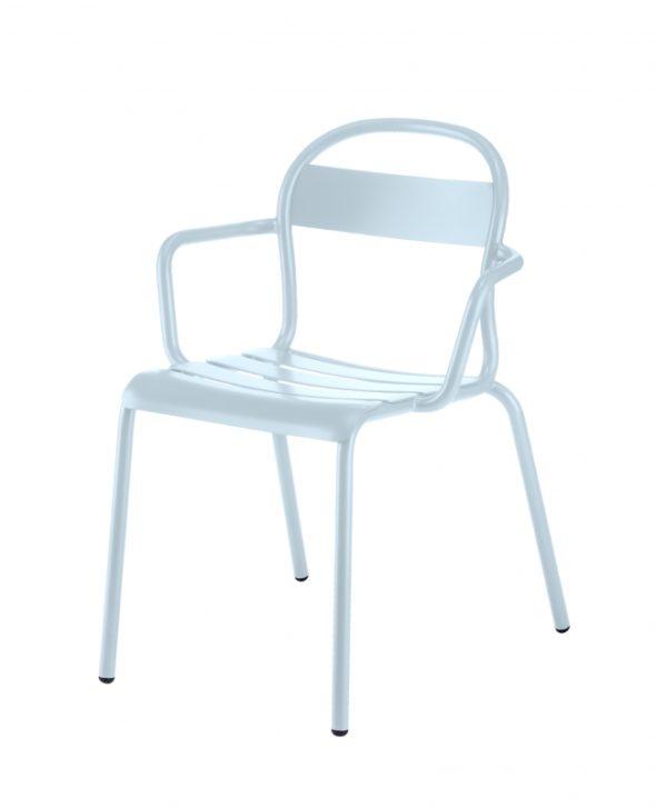 Chaise Stecca 2 bleu ciel - COLOS