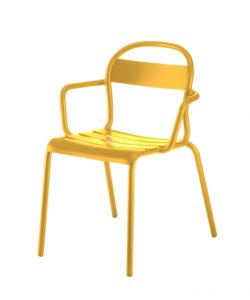 Chaise Stecca 2 moutarde - COLOS