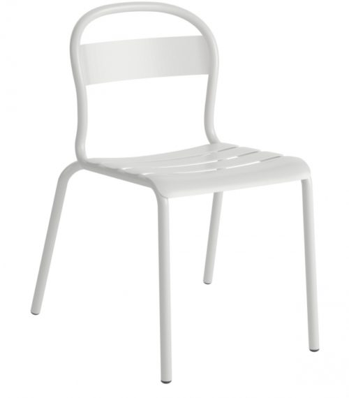 Chaise Stecca 1 blanche – COLOS
