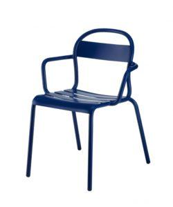 Chaise Stecca 2 bleu foncé - COLOS