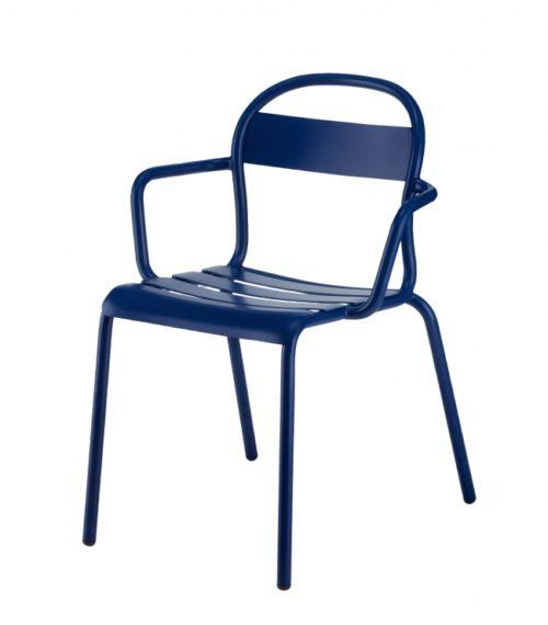 Chaise Stecca 2 bleu foncé – COLOS