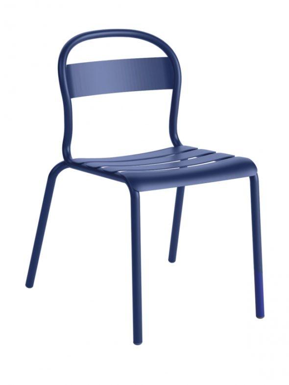 Chaise Stecca 1 bleu foncé - COLOS