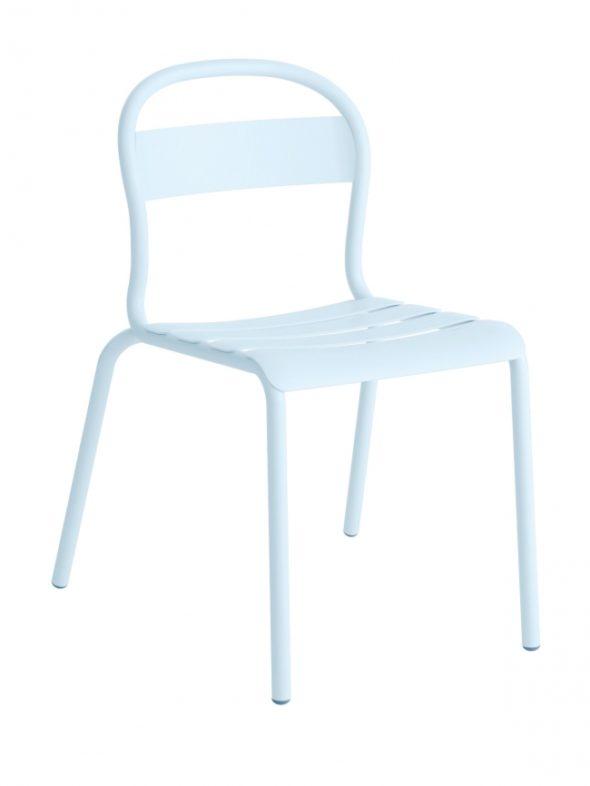 Chaise Stecca 1 bleu ciel - COLOS