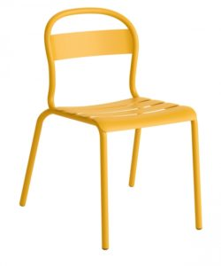 Chaise Stecca 1 moutarde - COLOS