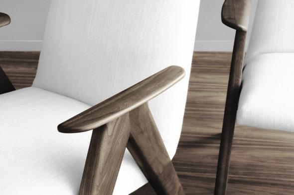 Accoudoirs chaise LIEBRA
