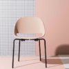 Chaise design SLL18 rose poudré - Bulo furniture