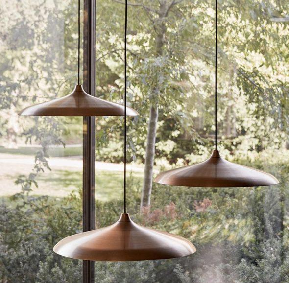 Lampe circular en intérieur
