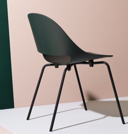 Chaise SLL18 pétrole - Bulo furniture