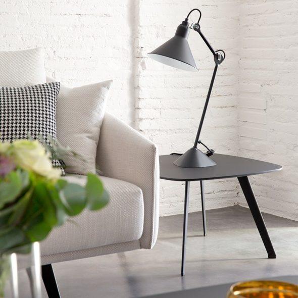 Table basse Solapa 60x60cm Fenix noir - STUA