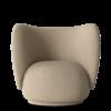 Fauteuil Rico polyester sable - Fermliving