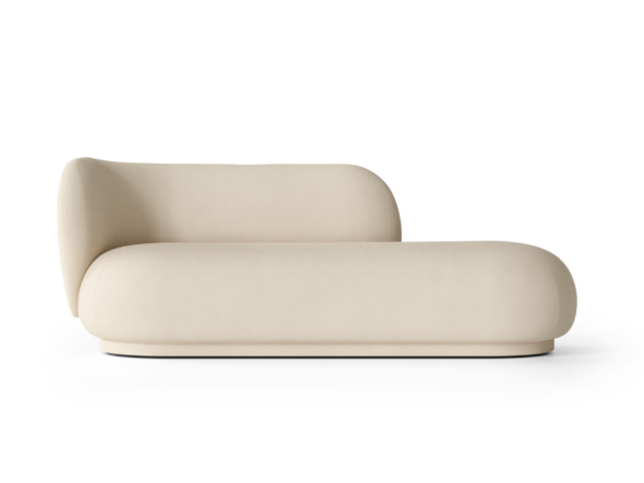Divan Rico polyester blanc - Fermliving