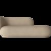 Divan Rico polyester sable - Fermliving