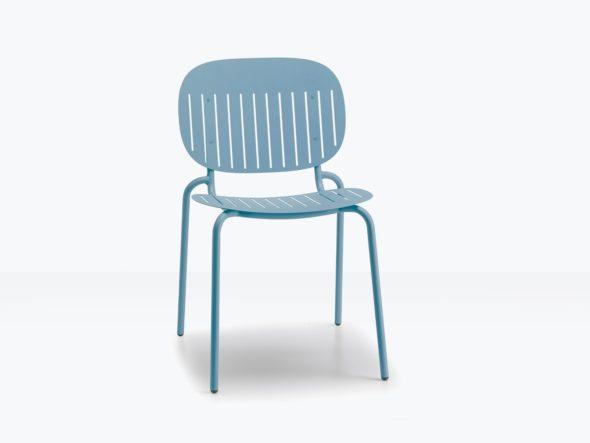 Chaise d'extérieure SISI assise ajourée - SCAB