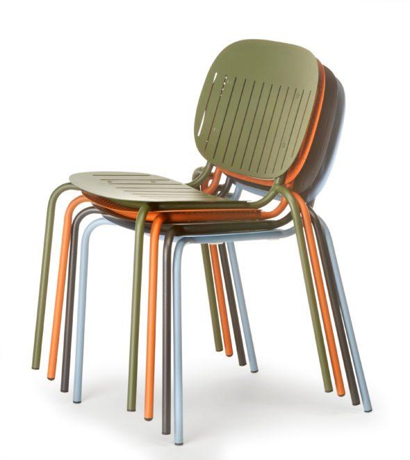 Collection de chaises d'extérieure SISI - SCAB