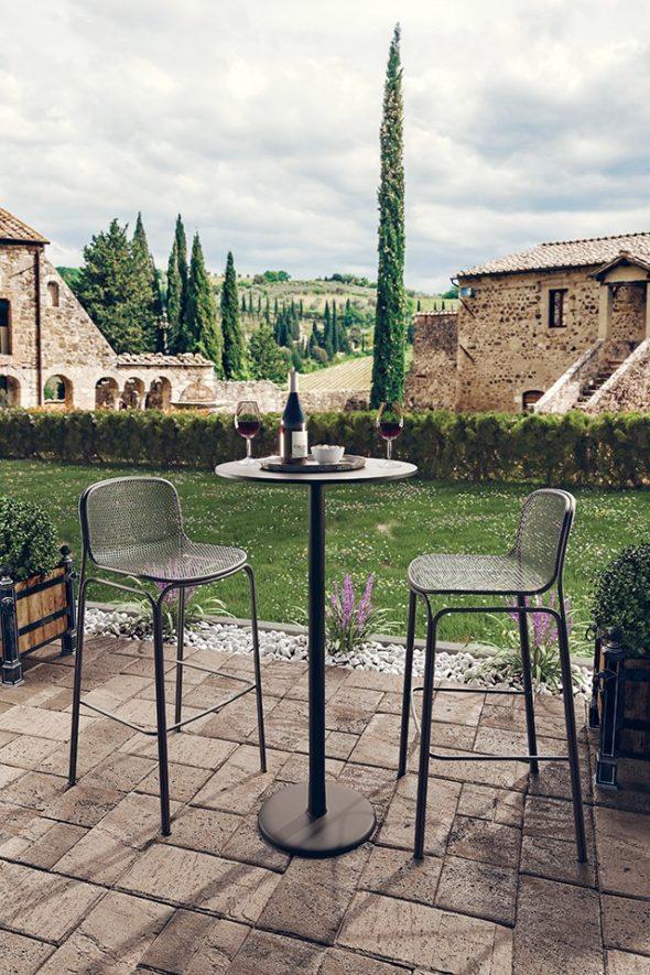 Tabourets Villa 3A Noir - COLOS