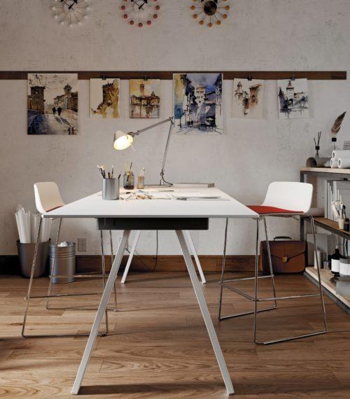 Table VU/BR HPL blanc – COLOS