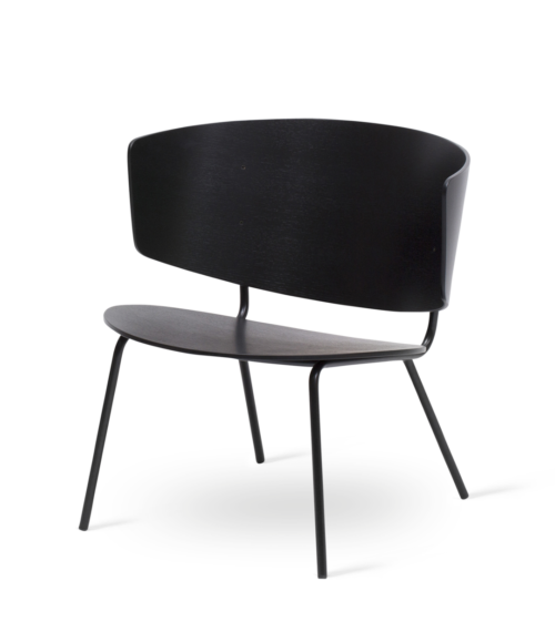 Fauteuil Herman Lounge frêne teinté – FERMLIVING