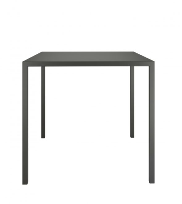 Table QU 1/2 Anthracite - COLOS