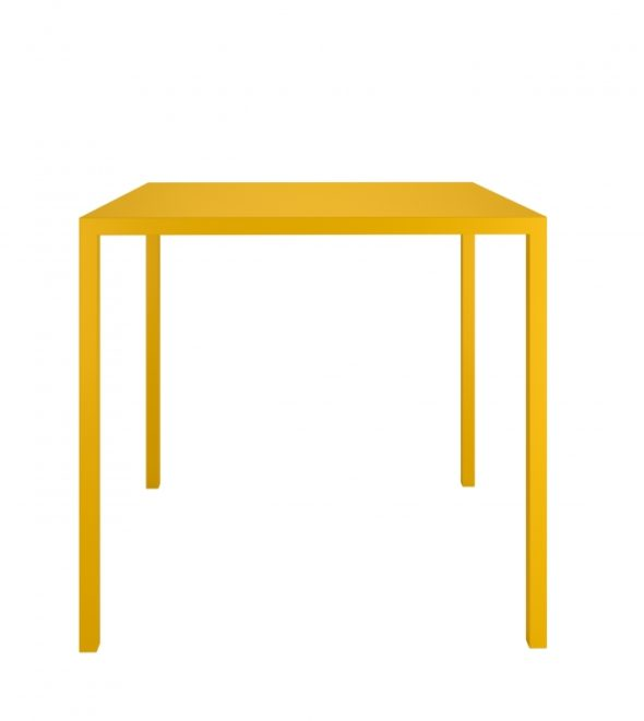 Table QU 1/2 Moutarde - COLOS