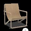 Fauteuil Desert Lounge Tissu Sable structure brun cachemire- Fermliving